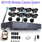 1080p 8CH NVR IP Wireless Security Camer...