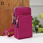 Women Girls Cross Body Mobile Phone Shoulder Wrist Pouch Bag Coin Wallet Purse