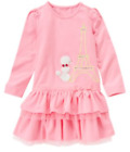 ❤ GYMBOREE girls Eiffel Tower dress size 12 New $36.95 poodle dog NWT FREESHIP