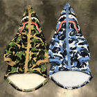 Hot Style Shark Head Bape A Bathing Ape Pet Dog Hoodie Sweater Clothes Coat New