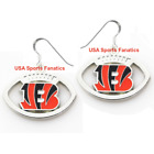Cincinnati Bengals Football Logo Pendant Earrings With 925 Earring Wires $7.99 USD on eBay
