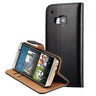 Luxury Genuine Real Leather Flip Case Wallet Cover For HTC U11 Life Plus 620 M10