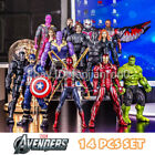 Marvel Avengers Iron Man Spiderman Captain America Thanos 7
