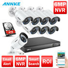 ANNKE Überwachungskamera 8CH PoE HD 6MP NVR Überwachungssystem Smart Search CCTV