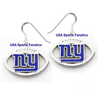 New York Giants Football Logo Pendant Earrings With 925 Earring Wires $7.99 USD on eBay