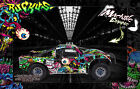 LOSI 5IVE-T WRAP DECAL HOP-UP CUSTOM KIT PARTS 'RUCKUS' FITS LOSB8105 CLEAR BODY