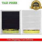 NEW REDI SHADE CORDLESS PAPER WINDOW BLINDS BLACK OUT PLEATED 36 X 72 IN INCH