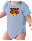 .Infant creeper bodysuit One Piece t-shirt I May Be Small But I'm The Boss k-568