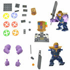lego marvel characters - LEGO Infinity War Thanos Minifigure with Gauntlet 24 Stones Marvel Avengers Gift