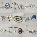 Men's Cufflinks NFL American Football Team Logo Personalized Bronze Fan Gift on eBay