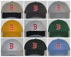 Boston Red Sox Polo Style Cap ⚾Hat ⚾CLASSIC MLB PATCH/LOGO ⚾12 Cool Colors ⚾New