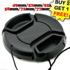 Lens Cap cover for Camera Lens 49/52/55/58/62/67/72/77/82 mm