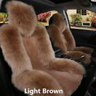 1 Pcs Universal Warm Wool Fur Car Front Seat Cover Cushion Car Accessories