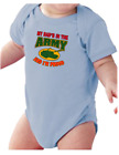 Infant creeper bodysuit One Piece t-shirt My Dad's In The Army I'm Proud k-3430