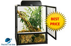 Zoo Med ReptiBreeze Open Air Black Aluminum Screen Cage(s/ m/ l /xl)FreeShipping