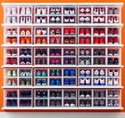 SNEAKER STORAGE BOX SHOE STORAGE CONTAINERS SHOE BOXES DROP FRONT CLEAR NEW