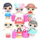 New Sisters cute Girl Surprise Doll Baby Series baby Model Toy Action Figure PVC