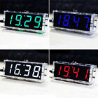 New Digital Led Electronic Time Clock Case Control Colors Diy Charged Light Kit