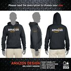 AMAZON Logo Hoodie T-Shirt Delivery Flex Prime High Quality Free Shipping S-4XL