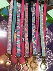 NWT Simply Southern Lanyard Full Size Badge/Key Holder wit r