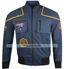 Star Trek Enterprise Jonathan Archer Blue Cotton Jacket on eBay