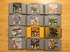 N64 Games - Nintendo 64  - Lot Authentic Clean Tested - Zelda - Donkey Kong