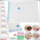 LOT - ASSORTED Vacuum Storage Clothes Space Saving Bags Bedding Organize Flat UK
