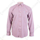 Percussion Beaugency Shirt Blue and Red - Hunting Fishing Check Cotton All Sizes