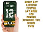 GREEN BAY PACKERS CUSTOM PHONE CASE COVER FOR IPHONE XS MAX XR 4 5C 6 7 8 PLUS $15.94 USD on eBay