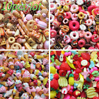 Внешний вид - 10pcs/lot  Barbie Dolls Lovely Mini Play Toy Food Cake Biscuit Donuts Miniature!