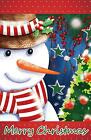 Morigins Smile Snowman Merry Christmas Tree Double-Sided Win