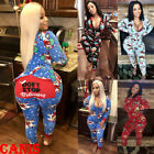 Xmas Women Ladies Clubwear Playsuit Bodycon Party Jumpsuit Romper Trousers New