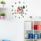 3D DIY Animal Wall Clock Kids Room Wall Decor, Cartoon Unique Art Design