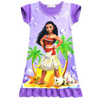 Dress For Girls Chileren Moana Cosplay Costume Princess Halloween Short Sleeve