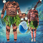 Moana Maui Tattoo T Shirt / Pants Halloween Adult Mens Women