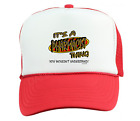 Trucker Hat Cap Foam Mesh It's A Pharmacist Thing You Wouldn't Understand