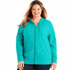 Just My Size Slub-Cotton Full-Zip Women's Hoodie 3X