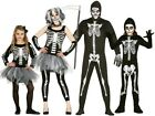 Family Matching Skelebones Skeleton Halloween Fancy Dress Costumes Outfits