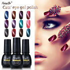 FairyGlo Cats Eye UV LED Soak Off Gel Nail Polish Magnetic D