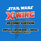 Kyпить X-Wing Miniatures Game 2.0 2nd Edition- Upgrade Cards TALENTS and ILLICIT  на еВаy.соm