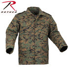 Rothco M65 Field Coat with removeable quilted liner WOODLAND DIGITAL CAMO