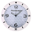 Rubber Slient Movement Wall Clock For Gift Room Office Wall Décor