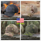 US 4 Color Multicam Camouflage Cap Outdoor Tactical Military Hiking Baseball Hat