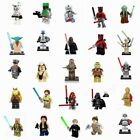 Star Wars Minifigures Jedi Darth Vader Yoda Kylo Ren Sith Clone Jaja Blocks