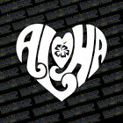 aloha heart hawaiian vinyl sticker decal design