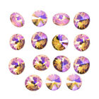 NEW Color AB 15Ppcs XILION ELEMENTS Crystal glass Rivoli loose Beads DIY14mm