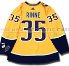 PEKKA RINNE NASHVILLE PREDATORS HOME AUTHENTIC PRO ADIDAS NHL JERSEY
