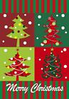merry christmas tree home decorative flag winter