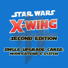 Kyпить X-Wing Miniatures 2.0 Game 2nd Edition -Upgrade Cards MODIFICATIONS SYSTEM TECH  на еВаy.соm