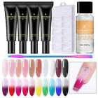 Quick Extension POLY Builder UV Gel  Nail Polish Dual Form Brush Set DIY